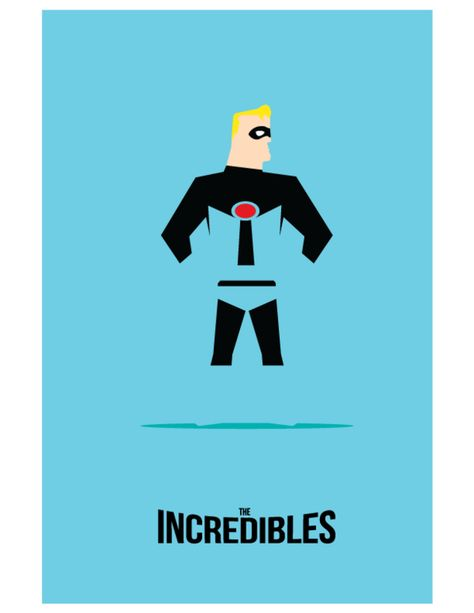 Pixar Minimalist Movie Posters