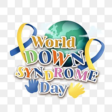 World Down Syndrome Day Lettering With Ornament Label Syndrome Down Syndrome Png Transparent Clipart Image And Psd File For Free Download In 2021 Clip Art Cartoon Clip Art Prints For Sale