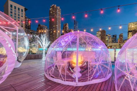 Rooftop bar season is year-round in Chicago. These seasonal spaces are the perfect place to cure your cabin fever with a healthy dose of the…