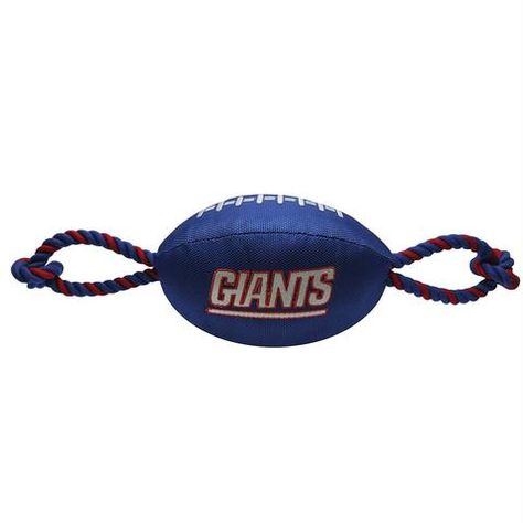 Medium Brown GameWear NFL New York Giants Football Leather Rope Leash