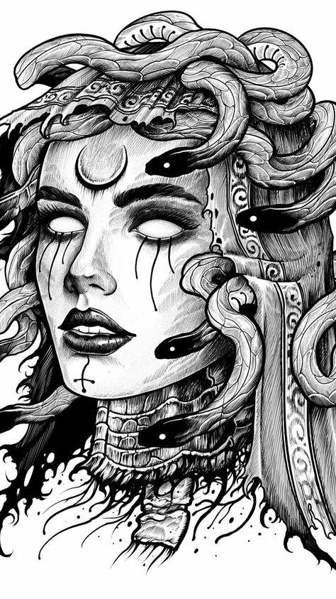 180 Medusa Ideas In 2021 Medusa Medusa Art Medusa Gorgon
