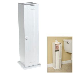 Toilet Tissue Tower By Oakridge Walmart Com In 2020 Bathroom Storage Tower Toilet Paper Storage Storage Cabinets