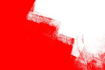White And Red Hand Painted Brush Grunge Background Texture Ad Hand Painted White Red Background Textured Background Kids Logo Design Hand Painted