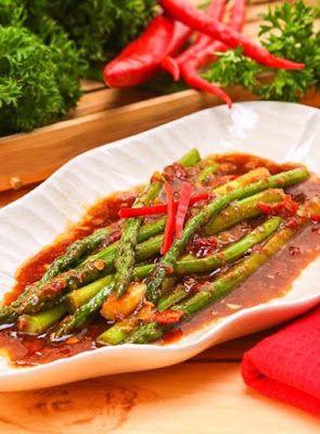 Asparagus Terasi Resep Masakan Masakan Indonesia Resep Makanan