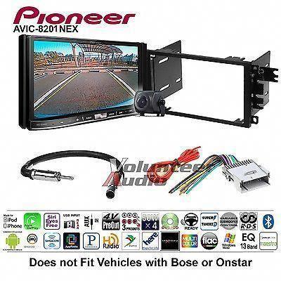Pioneer Double Din GPS DVD CD Player Car Radio Stereo Dash