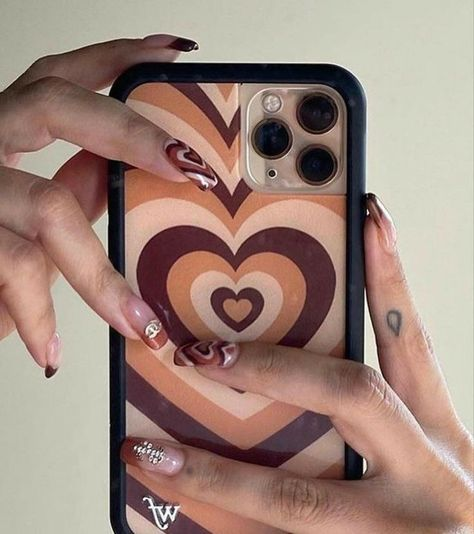 Cute Acrylic Nails, Cute Nails, Pretty Nails, Cute Phone Cases, Iphone Cases, Bling Phone Cases, Photographie Indie, Accessoires Iphone, Accesorios Casual