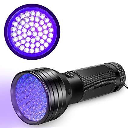 Uv Flashlight Black Light Uv Lights Vansky 51 Led Ultraviolet Blacklight Pet Urine Detector For Dog Cat Urine Dry Pet Odor Eliminator Pet Odors Uv Flashlight