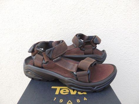 7ba4a5e88 TEVA TERRA FI 4 BISON LEATHER SPORT HIKING SANDALS MEN US 10  EUR 43 NEW   fashion  clothing  shoes  accessories  mensshoes  sandals (ebay link)