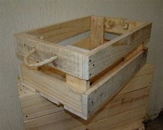 Caixote De Paletes E Sisal Arts And Crafts Box Making Machine Arts And Crafts Movement Women Wooden Pallet Projects Wood Pallet Projects Diy Wooden Crate