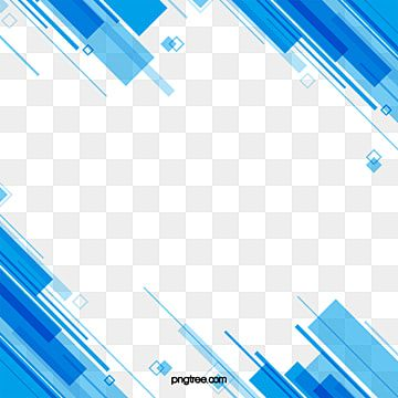 Simple Blue Business Style Line Shape Abstract Blue Clipart Simple Abstract Png Transparent Clipart Image And Psd File For Free Download Frames Design Graphic Background Design Vector Business Fashion