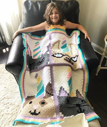 Free Unicorn Crochet Pattern Roundup | Crochet Blanket