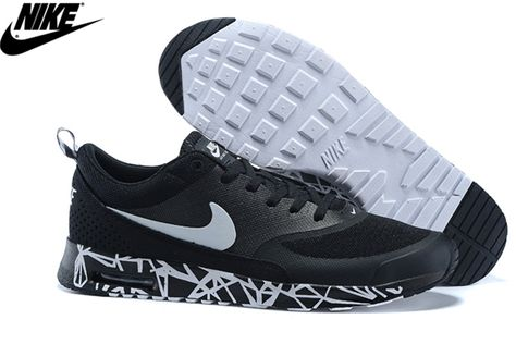 best service 081d1 0ce2c Mens Nike Air Max Thea Print Natural Running Shoes Black White  599407-001,Wholesale