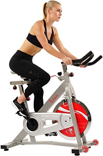 Chic Sunny Health Fitness Pro Indoor Cycling Bike With 40 Lb