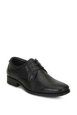 Red Chief Black Derby Shoes in 2020