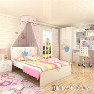 غرف نوم للبنات صور غرف نوم للبنات ديكورات غرف نوم بنات بالصور بينك جميله Girls Room Wallpaper Home Decor Room Wallpaper