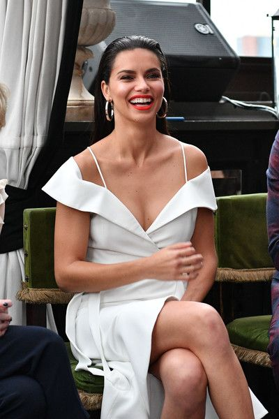 Adriana Lima attends the 'American Beauty Star' premiere at Gramercy Terrace.
