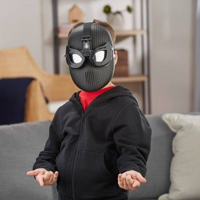 Spiderman Plastic Half Mask One Size
