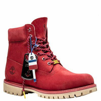 eBay Sponsored) NIB*Timberland*Mens*Lobster Boots*Red Nubuck