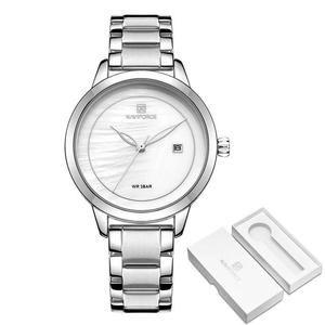 Luxury Brand Rose Gold Watches For Women Quartz Wristwatches Fashion Ladies Bracelet Clock Watch