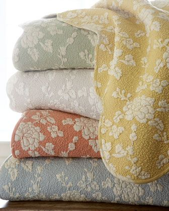 Pine Cone Hill Madeline Floral Quilt - Neiman Marcus