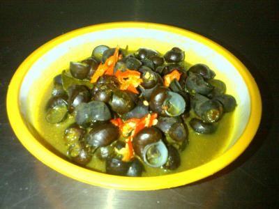 Cara Memasak Tutut Bumbu Kuning Pedas Mantap Resep Masakan Memasak Masakan