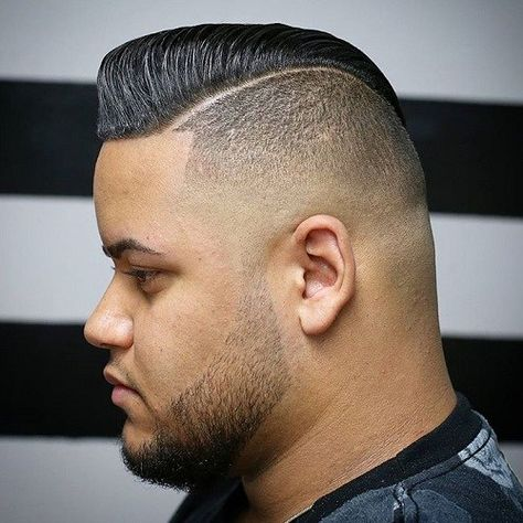 Mohawk Pompadour Hairstyle For Men