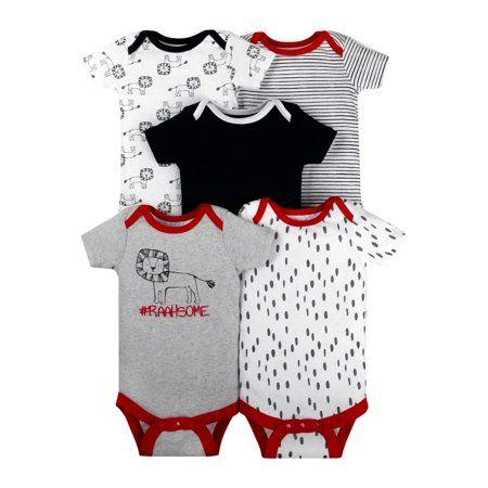 Newborn T-Shirt Red Up to 3 Months Baby Boy Top Short Sleeve NEW