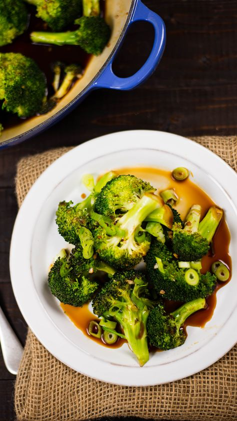 Up your broccoli game by sautéing it with this simple and healthy honey garlic sauce.