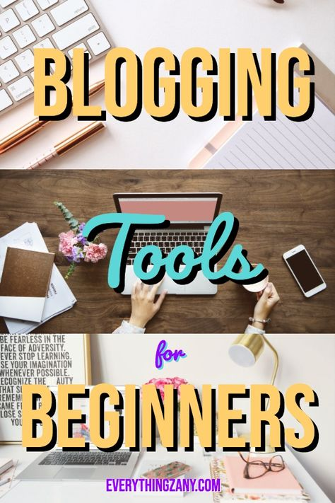 Blogging Tools For Beginners: For Best Productivity Results Like A Boss!