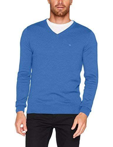 Tom Tailor Herren Pullover Basic V Neck Sweater Herren Pullover