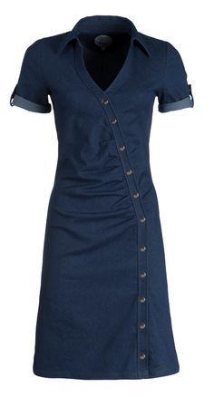designer jurken en rokken denim
