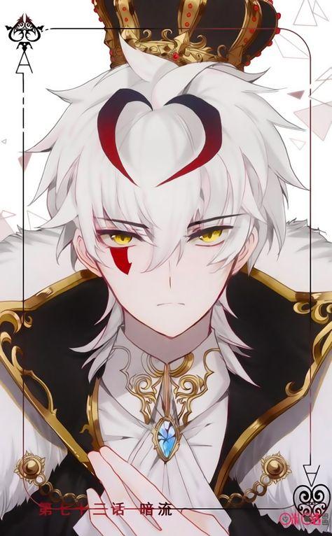 67 Ideas For Hair White Anime Boy Demon