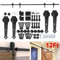 Home Improvement Double Sliding Barn Doors Wood Doors Interior Sliding Door Hardware