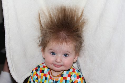 Crazy Babies Crazy Baby Hairstyles That Will Have You Searching For A Hairbrush Funny Babies Cute Kids Baby Hairstyles