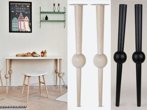 Pieds Table Haute Bois Castorama Pied En Fer Design Leroy