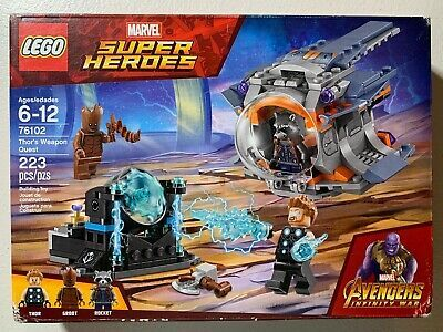 LEGO Groot Minifigure Avengers Infinity War 76102 Thor/'s Weapon Quest
