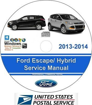 Advertisement Ebay Ford Escape 2013 2014 Including Hybrid Factory Workshop Service Repair Manual In 2020 Ford Fusion Repair Manuals Ford