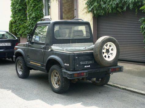 Suzuki SJ Samurai Pick-Up als Geländewagen/Pickup in Pfullingen