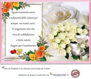 Biglietto Auguri Matrimonio Da Stampare Gratis Auguri Di Nozze Matrimonio Citazioni Matrimonio