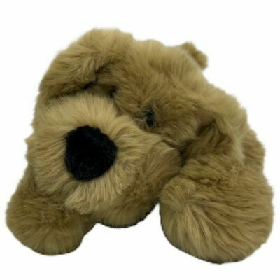 Details About Commonwealth Tan Beige Puppy Dog Lying Down Super