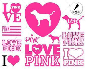 Pink Svg Etsy Victoria Secret Pink Logo Victoria Secret Wallpaper Vs Pink Wallpaper