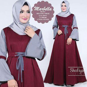 Baju Muslim Wanita Kekinian Berkualitas Baju Muslim Pakaian Model Model Pakaian