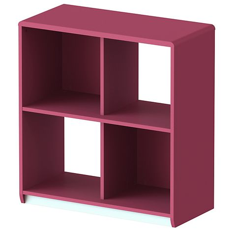 Cool Etagere Framboise 4 Cases A Roulettes Meuble Deco Mobilier