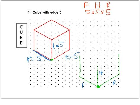 Isometric drawing exercises for kids - Search Google Isometric - isometric graph paper