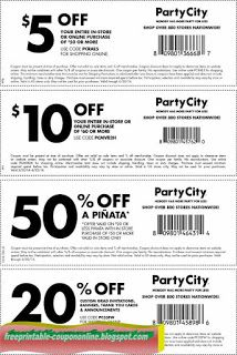 Free Printable Party City Coupons Party City Party Printables Free Free Printable Coupons