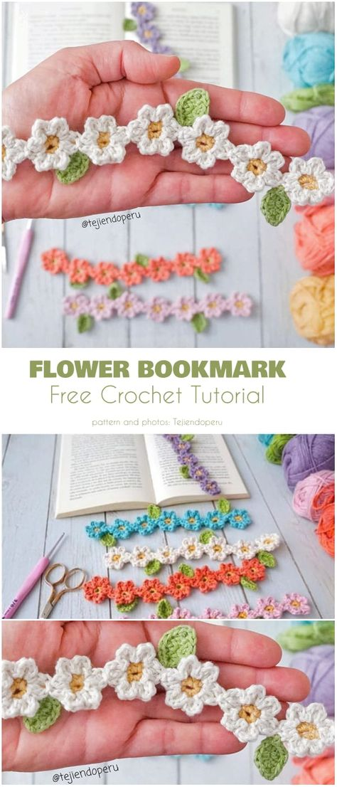 There is nothing quite like picking up a paper book and and settling in for an hour or ten and losing yourself in the story. Of course, it isn& often that we can, so we read in hour or two long increments, and mark our places in books with the Marque-pages Au Crochet, Crochet Mignon, Bonnet Crochet, Crochet Gratis, Learn To Crochet, Cute Crochet, Crochet Stitches, Crochet Books, Crotchet