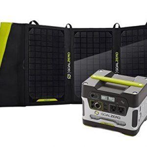 Goal Zero Yeti 400 Solar Generator Charged By Nomad 20 Solar Panel In 2020 Portable Solar Generator Solar Generator Solar Generators
