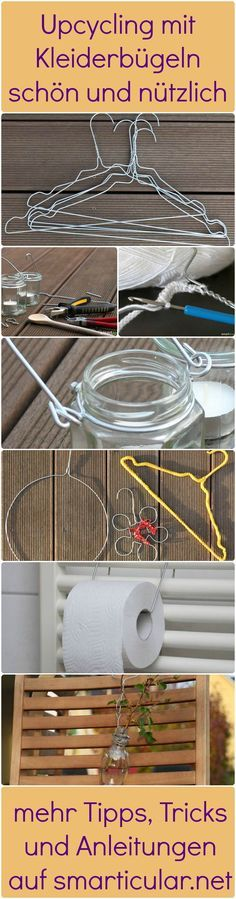 pure and noble: Reduce, Reuse, Recycle: Wire Hangers. I might try ...