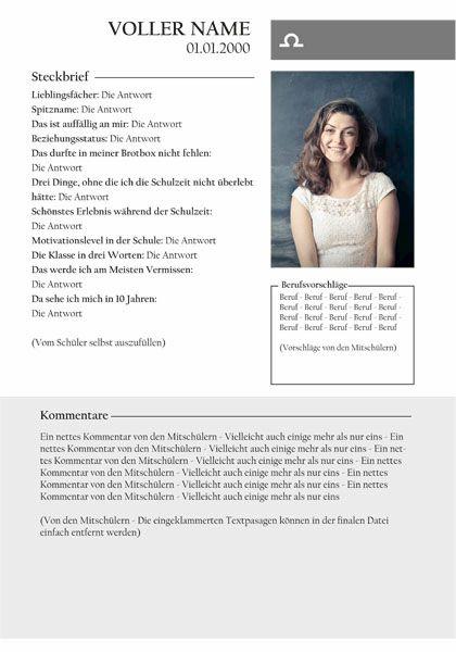Abizeitung steckbrief 80 Lustige
