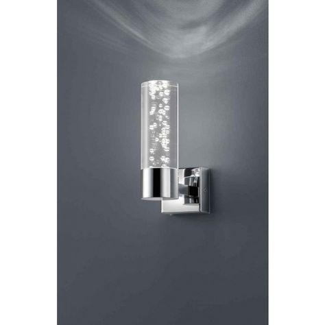 trio serie 2824 wandleuchte led chrom lampen